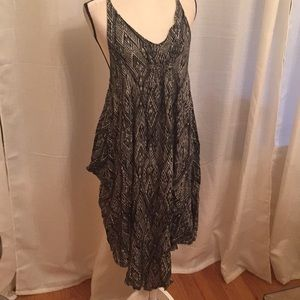 Free people high low flowy cotton dress Sz medium
